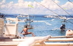 Cebu's primary diving destination Buyong