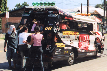 Jeepney with Conductor