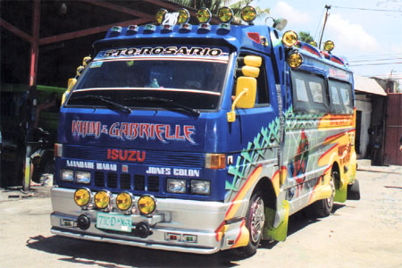 Spiderman Jeepneys in Cebu