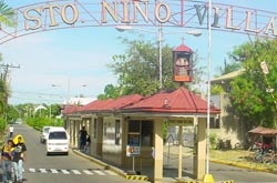 Santo Nino Village in Banilad, Cebu, Philippines